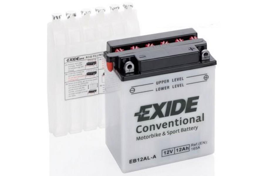 Аккумулятор Exide EB12AL-A (12 A/h), 165А R+