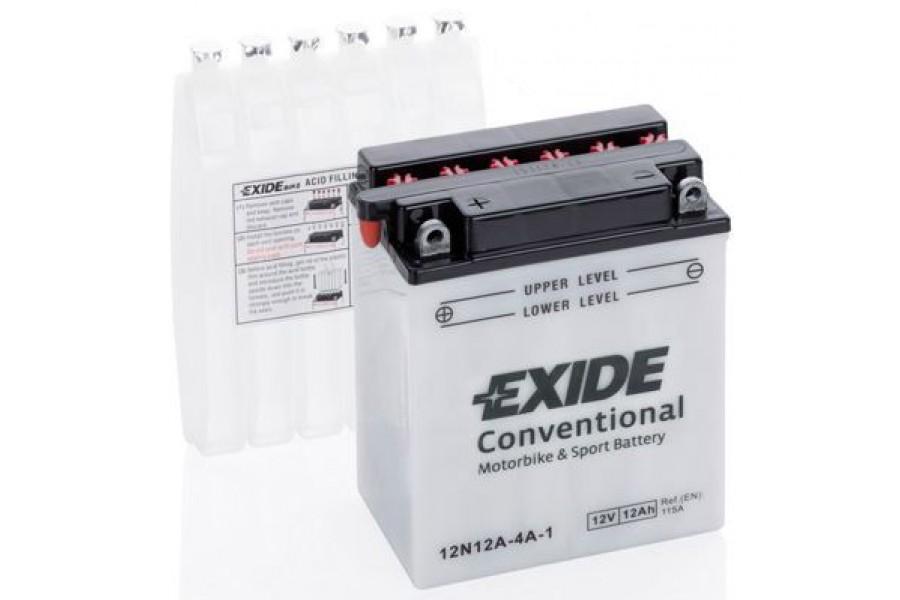 Аккумулятор Exide 12N12A-4A-1 (12 A/h), 115А L+