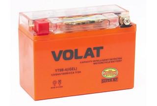 Аккумулятор VOLAT YT9B-4 (iGEL) 8 A/h 115A L+