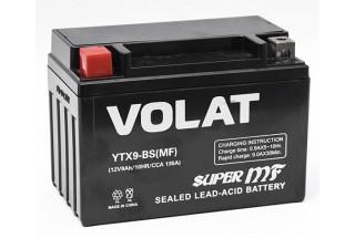 Аккумулятор VOLAT YTX9-BS (MF) AGM 9 A/h 135A L+