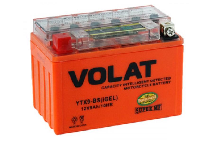 Аккумулятор VOLAT YTX9-BS (iGEL) 9 A/h 135A L+