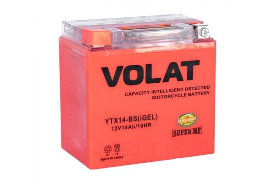 Аккумулятор VOLAT YTX14-BS (iGEL) 14 A/h 200A L+