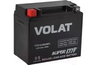 Аккумулятор VOLAT YTX12-BS AGM 12 A/h 150A L+