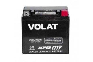 Аккумулятор VOLAT YTX5L-BS AGM 5 A/h 80A R+