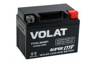 Аккумулятор VOLAT YTX4L-BS AGM 4 A/h 50A R+