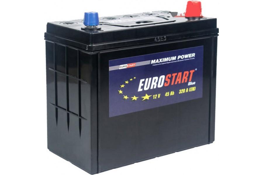 Аккумулятор Eurostart Blue ASIA 45  A/h 320A L+