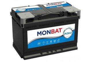 Аккумулятор Monbat AGM (80  A/h), 840A R+