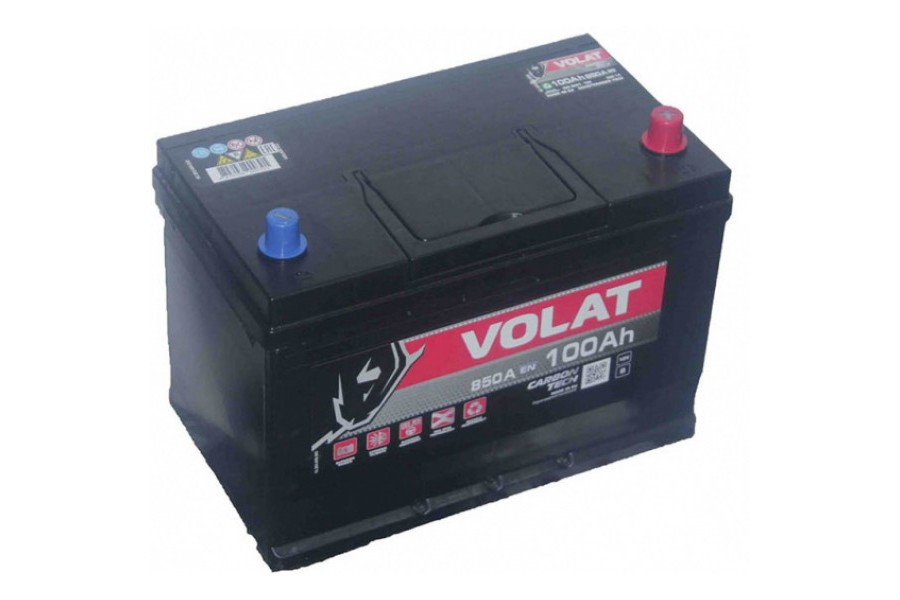 Аккумулятор VOLAT Ultra ASIA 100  A/h 850A R+