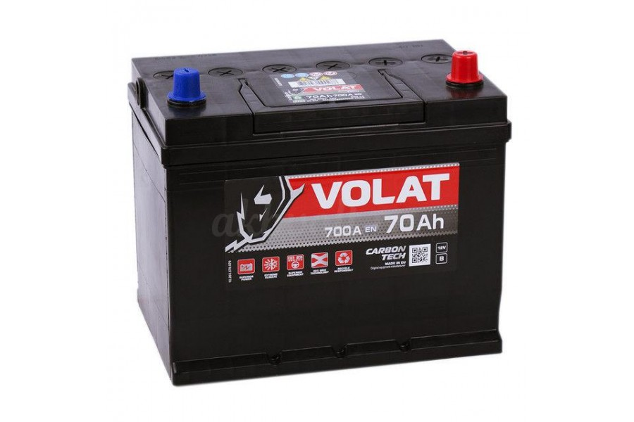 Аккумулятор VOLAT Ultra ASIA 70  A/h 700A R+